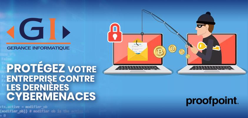 phishing ransomwares attaque sécurité informatique proofpoint